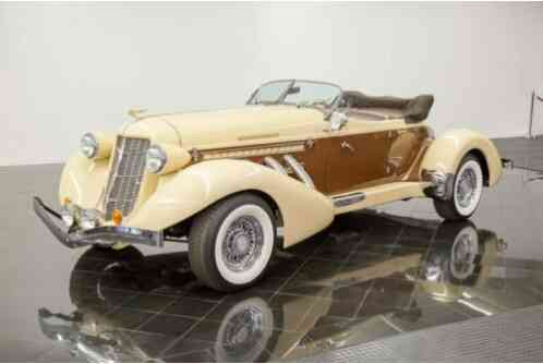 1936 Cord 876 Boattail Phaeton by California Custom Coach