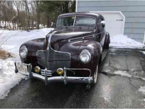 Dodge Business Coupe Deluxe (1940)