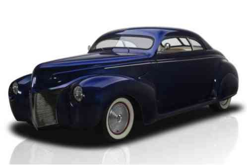 Mercury Coupe -- (1940)