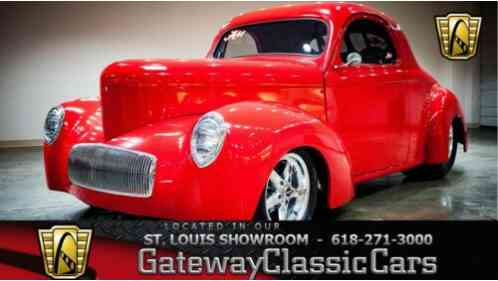 1940 Willys Coupe Blown