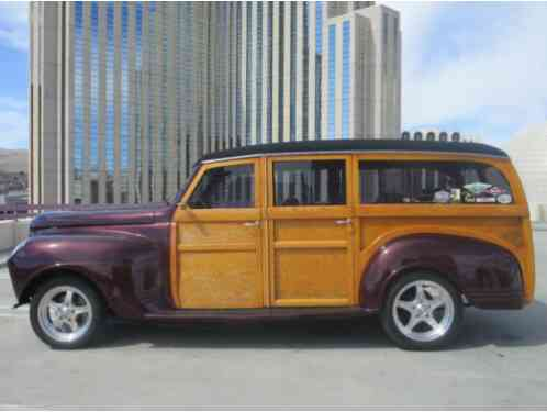 1941 Plymouth Woody --