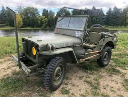 1942 Willys Station Wagon
