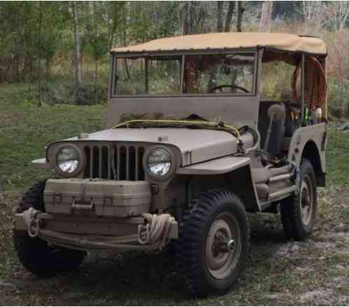 Willys CJ2A (1945)