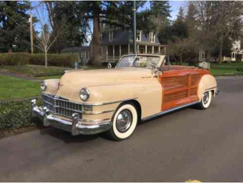 1948 Chrysler Chrysler Town & Country Convertible --
