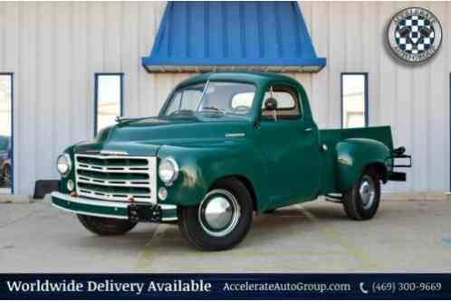 1949 Studebaker 2R5 2R5 112 6 CYLINDER 3 ON THE TREE VERY NICE TRUCK!