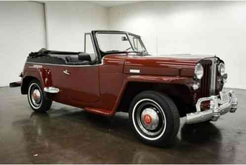 Willys Jeepster -- (1949)