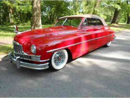 Packard Victoria Custom -- (1950)