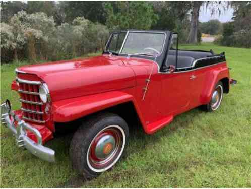 Willys Jeepster Chrome (1950)