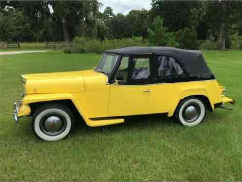 Willys Overland Jeepster (1950)