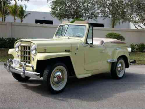 Willys Jeepster -- (1950)