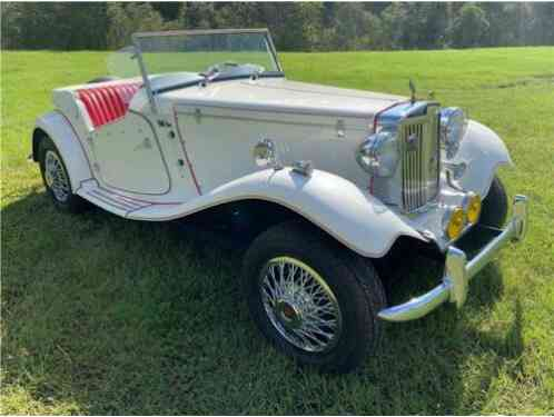 MG London roadster MG (1952)
