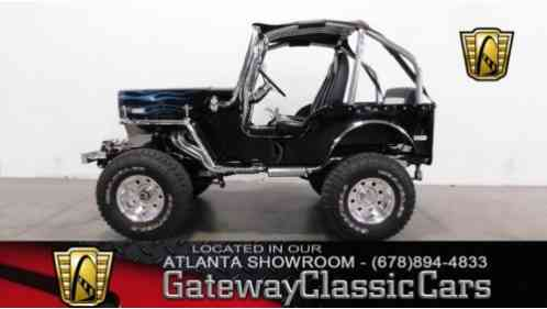 Willys CJ3B -- (1953)
