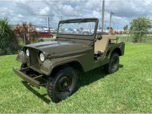 Willys Model 38 Truck Military Jeep (1955)