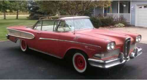 Edsel Pacer Convertible (1958)