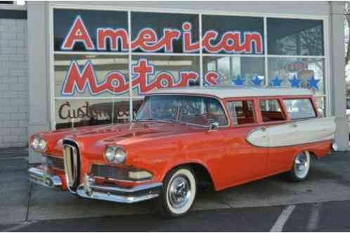 Edsel Villager Wagon (1958)