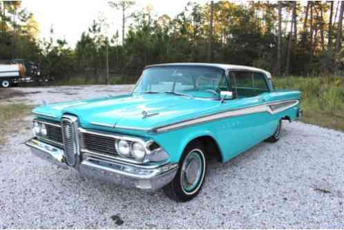 1959 Edsel Corsair RARE 2 Door HardTop 332ci Must See 110+ Pictures