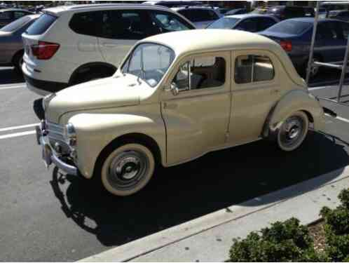 1960 Renault Other 4 DOOR