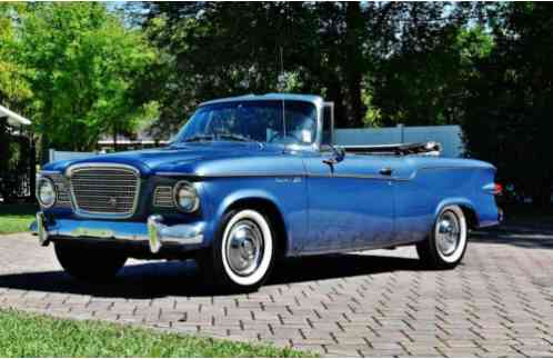 1960 Studebaker Convertible V-8 Automatic A/C