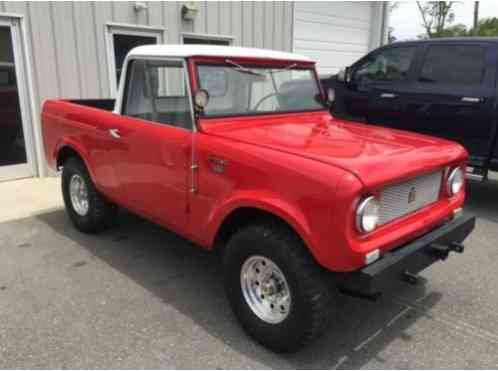 International Harvester Scout Pickup 1962 This 80 4x4 Is Great American