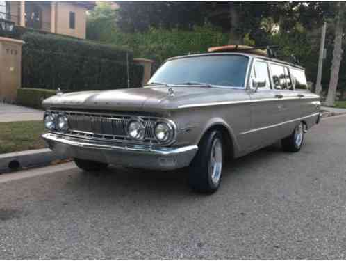 1962 Mercury Comet Comet Hot Rod Surf Wagon
