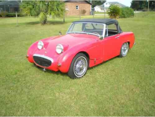 austin healey sprite  bugeye vehicle   good original car  sale
