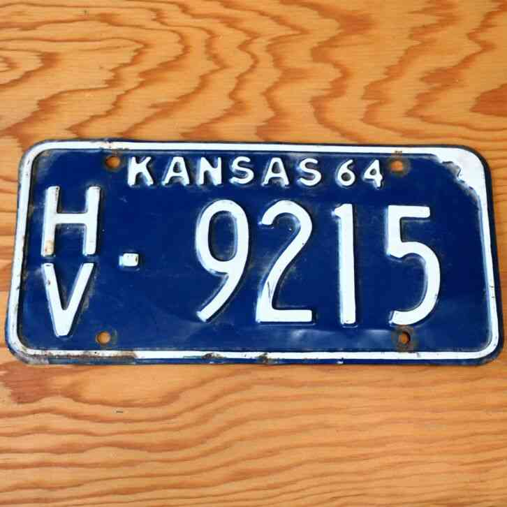 """K-State Kansas State Wildcats Football 6/""""x12/"""" Aluminum License Plate Tag"""