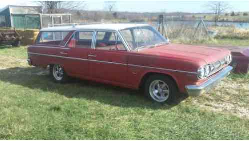 AMC Rambler Cross Country station (1965)