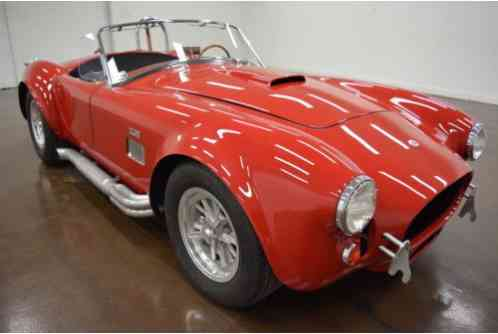 1967 Unique Motor Cars 427 SC Cobra --