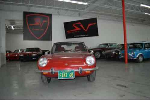 Fiat 850 Sport greatly kept car (1968)