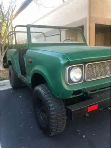 1968 International Harvester Scout SUV