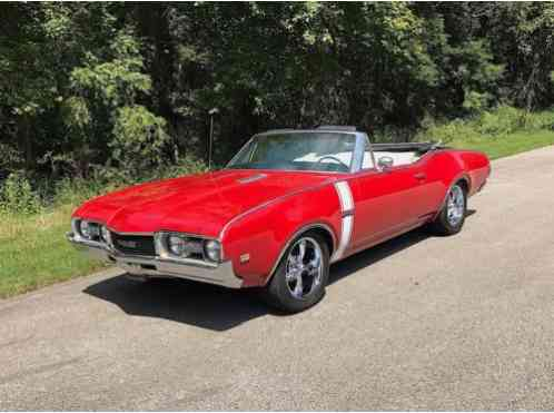 1968 Oldsmobile 442 CONVERTIBLE 400 4SPD