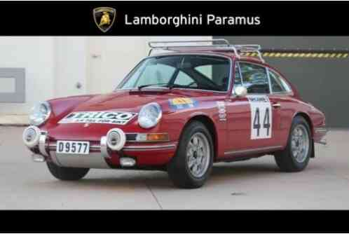 1968 Porsche 912 Swedish Rally Coupe