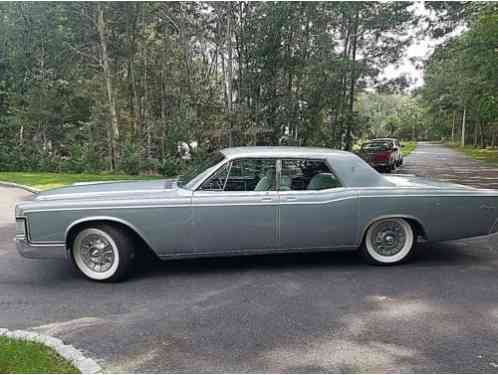 Lincoln Continental hot rod, rat (1969)