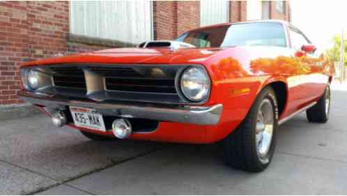 1970 Plymouth Barracuda 340 4-speed Cuda