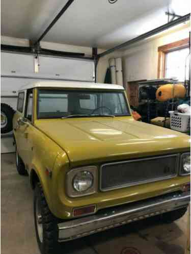 1971 International Harvester Scout All Metals Classic