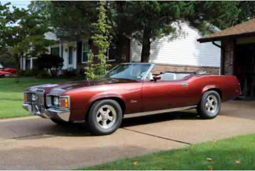 1971 Mercury Cougar XR7 Convertible