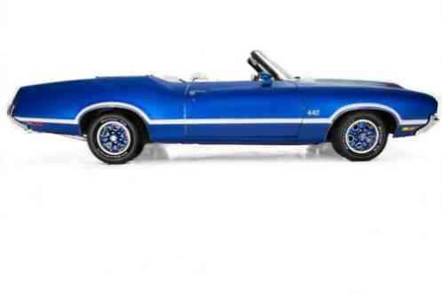 Oldsmobile 442 Convertible Blue, (1971)