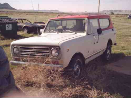 International Harvester Scout (1972)