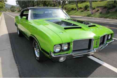 1972 Oldsmobile 442 Cutlass Supreme