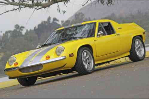 Lotus Europa 1973 The Was Built From 1966 Through 1975 And One Of