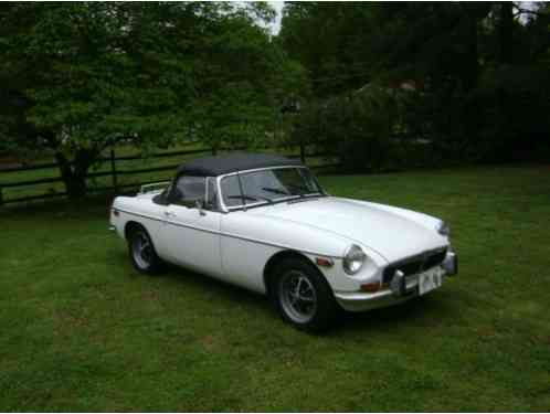 MG MGB Convertible (1973)