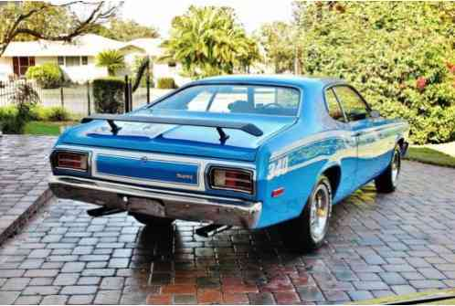 1973 Plymouth Duster 340 Broadcast Sheet Low Miles Factory A/C