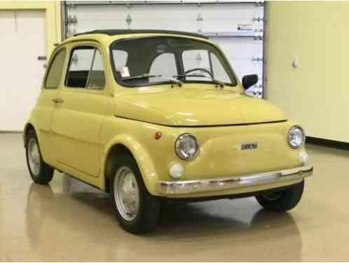 Fiat 500 R 1974
