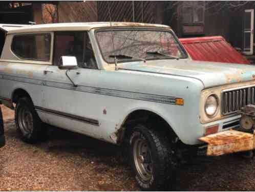 1974 International Harvester Scout II