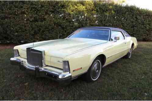 1974 Lincoln Continental Mark IV 51k ORIGINAL MILES 460 V8 100+ HD Pics