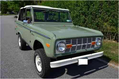 Ford Bronco -- (1976)