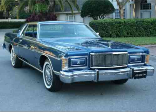 Mercury Grand Marquis COUPE - MINT (1976)