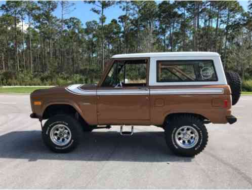 Ford Bronco 2dr 4x4 (1977)