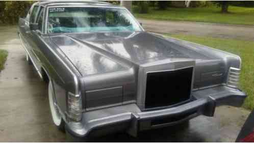 Lincoln Town Car Original (1977)
