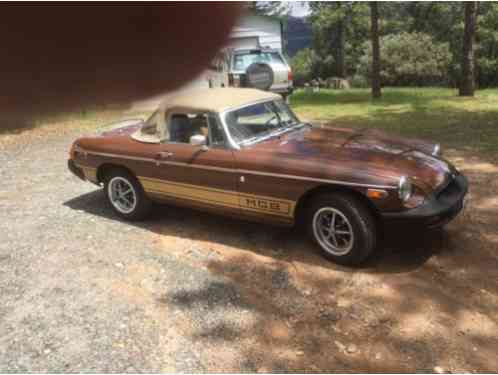 1978 MG MGB special edition